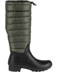 Hunter | Original Tall Quilted Rainboots | Lyst
