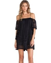 Alice Mccall Black Camellia Playsuit - Lyst