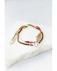Urban Outfitters Delicate Bracelet Set - Lyst