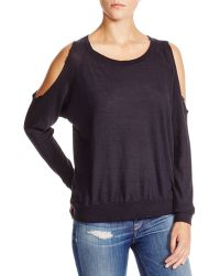 Nation Ltd | Taylor Cold-shoulder Sweatshirt | Lyst