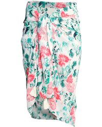 H&M Patterned Sarong green - Lyst
