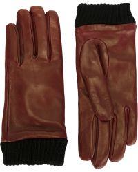 DIESEL - 'giribbes' Gloves - Lyst