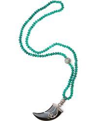 CB Bronfman - Diamond Horn Necklace - Lyst
