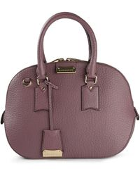 Burberry Classic Zipped Up Tote - Lyst
