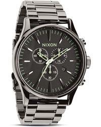 Nixon The Sentry Chrono Watch 42mm - Lyst