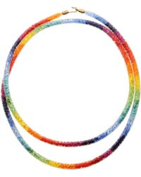 Peppercotton Rainbow Necklace - Orange