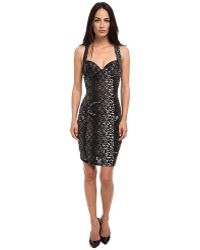 Jean Paul Gaultier Colored Panther Polka Dot Tulle Bustier Dress - Lyst