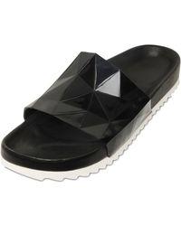 United Nude - Diamond Cut Silicone Sandals - Lyst
