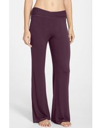 Midnight By Carole Hochman - Pull-on Lounge Pants - Lyst