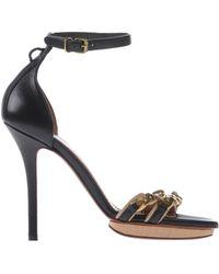 Lanvin Beige Sandals - Lyst