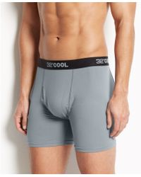 Weatherproof 32 Degrees Cool by Mens Athletic Performance Boxer Briefs - Lyst