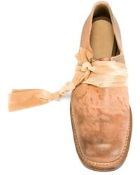 Cherevichkiotvichki Square Derby Shoes - Brown