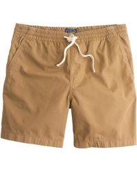J.Crew Dock Short In Garment-Dyed Chino - Lyst