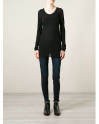 Private 0204 - Longsleeved Knit Top - Lyst
