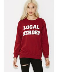 Forever 21 Local Heroes Graphic Sweatshirt - Lyst