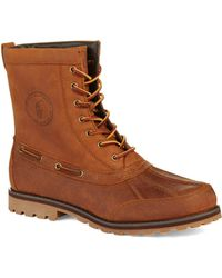 Polo Ralph Lauren Whitsand Boots brown - Lyst