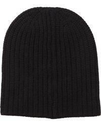Alex Mill | Cashmere Solid Beanie In Black | Lyst
