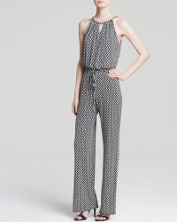 Laundry by Shelli Segal - Jumpsuit - Chain Neck Printed - Lyst