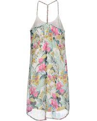 Vero Moda Short Dress white - Lyst