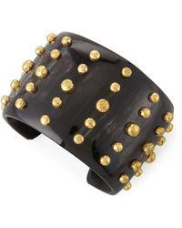 Ashley Pittman Kiwiko Studded Cuff Bracelet - Lyst