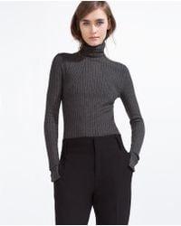 Zara | Turtle Neck Sweater | Lyst
