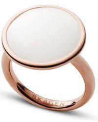 Skagen - Skj0823791002 Ladies Ring Size 6.5 - Lyst