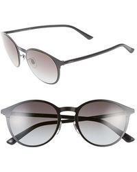 Gucci 52Mm Retro Sunglasses black - Lyst