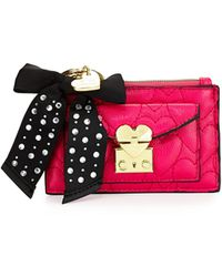 Betsey Johnson Be Mine Again Coin Pouch - Lyst