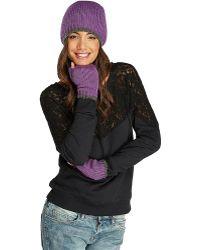 Threads For Thought - Pop Stripe Fingerless Gloves - Lyst