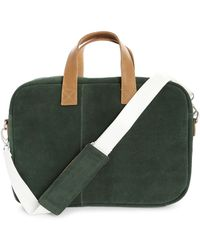 Faguo Fir Green And Tawny Shoulder Bag - Lyst