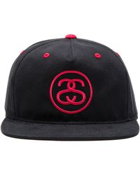 0bc6fc4cb87 Stussy - Ss Link Contrast Snapback - Lyst