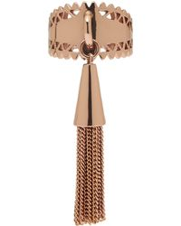 Eddie Borgo - Rose Goldplated Tassel Ring - Lyst
