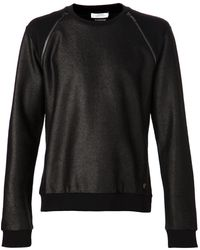 Versace Metalilc Raglan Sweatshirt - Lyst