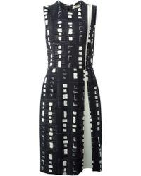 Etro Printed Sheath Dress - Lyst