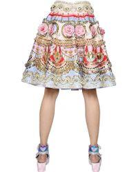 Manish Arora - Embellished Silk Skirt - Lyst