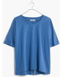 Madewell Breeze-Back Tee - Lyst