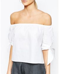 Love | Off Shoulder Tunic | Lyst