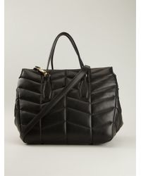 Ermanno Scervino Quilted Tote Bag - Lyst