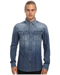 Pierre Balmain Denim Shirt - Lyst