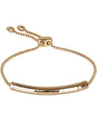 Monica Vinader - Gold-plated Vermeil Esencia Bracelet - Lyst