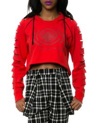 LRG - The Armory Cropped Hoodie - Lyst