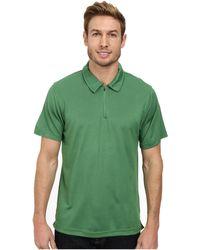 The North Face Short Sleeve Groveland Flashdry™ Polo green - Lyst