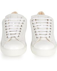 Mr. Hare Cunningham Low-Top Leather Trainers - White