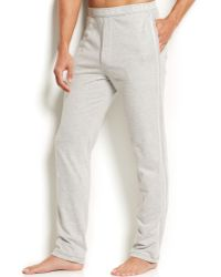 Diesel Men'S Massi J Slim-Fit Lounge Pants gray - Lyst
