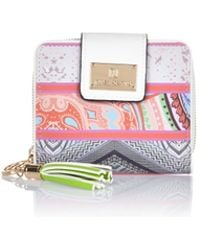 River Island Pink Mixed Print Square Purse - Lyst