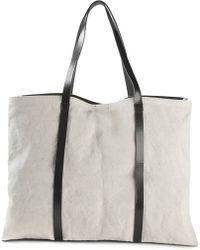 Y's Yohji Yamamoto Overisized Slouchy Tote Bag - Lyst