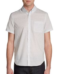 Slate & Stone - Jenner Star Short-Sleeve Shirt - Lyst