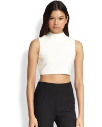 Elizabeth And James Aisling Mia Crop Top - Lyst