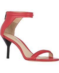 3.1 Phillip Lim Martini Ankle-Strap Sandals - Lyst
