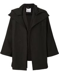 Phoebe English - Open Front Wide Sleeve Cape - Lyst